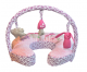 COMFORT & HARMONY: Deluxe Mombo Pillow - Fairytale Dream (with removable Toy Bar)